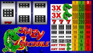 Online Slot Machine Crazy Crocodile