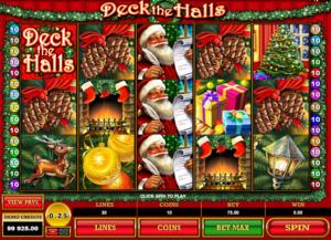 Slot Machine Deck The Halls Online