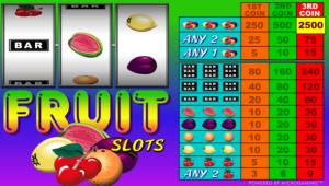 Online Slot Fruit Slots