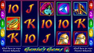 Online Genies Gems Slot