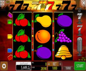 Slot Machine 777 Hot Online