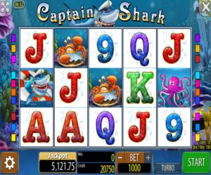 Online Slot Captain Shark