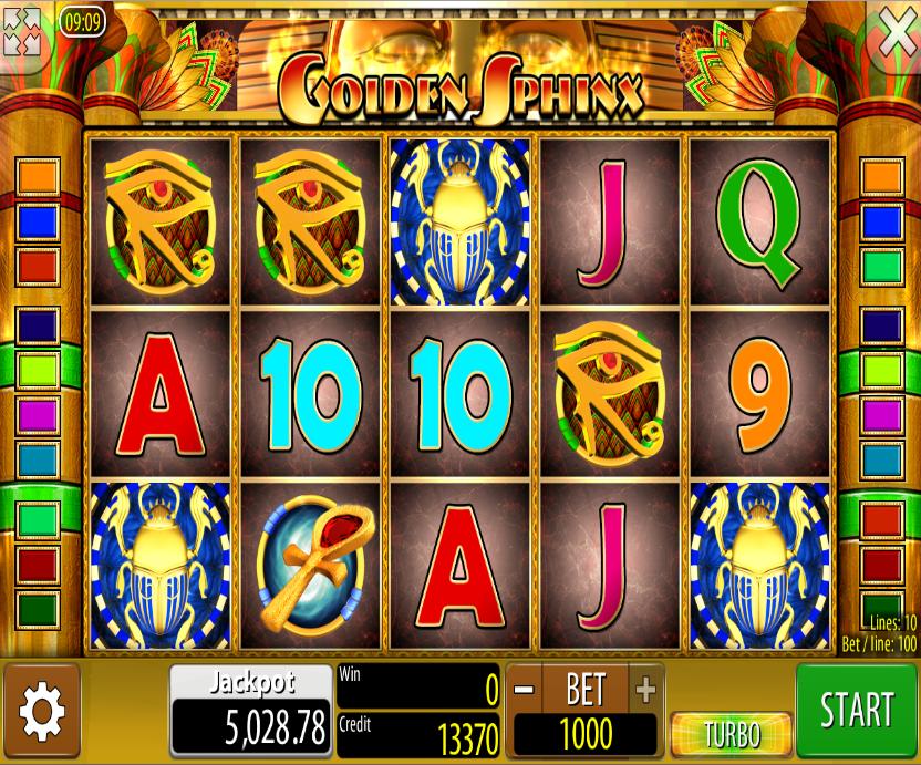 Golden Sphinx Slot Machine