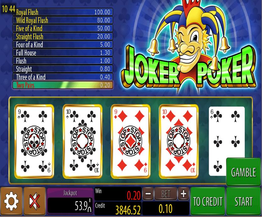 Free Slots Poker Joker