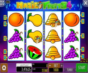 Slot Machine Magic Fruits 4 Online
