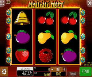 Play Slot Magic Hot Online