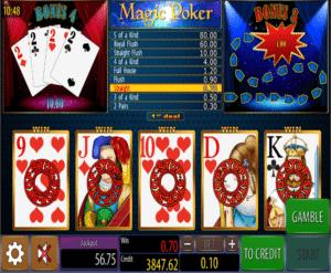 Slot Machine Magic Poker Wazdan Online