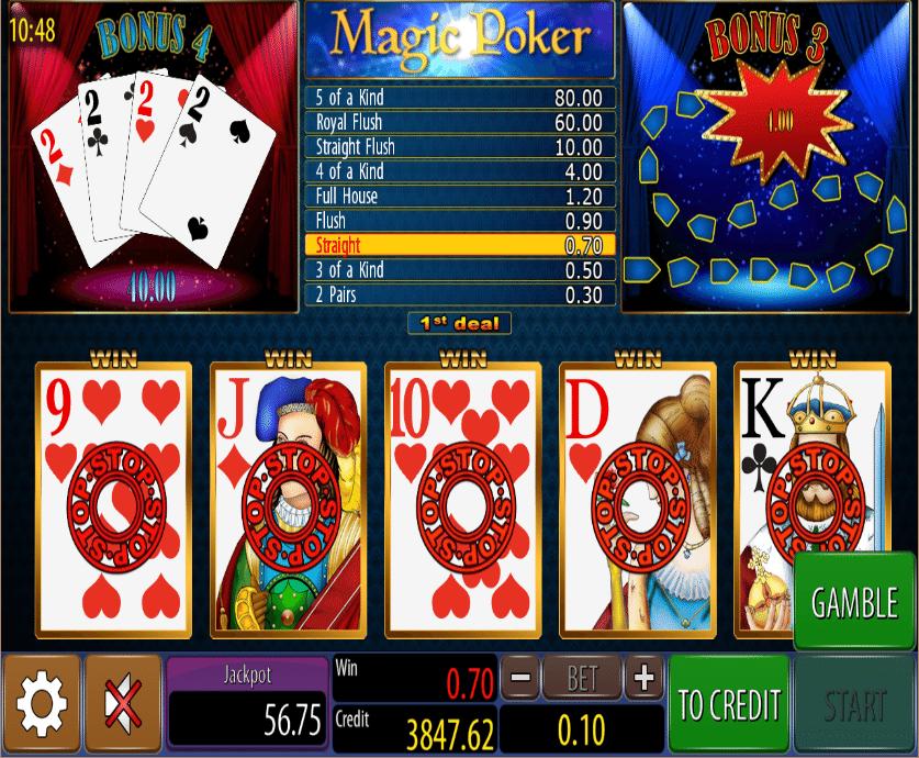 Online Slot Poker