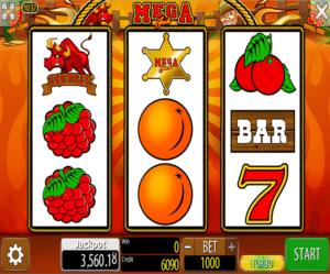 Online Slot Machine Mega Jack