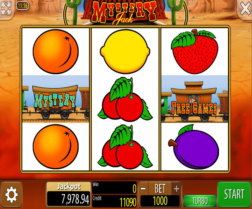 Mystery Jack Slot Machine