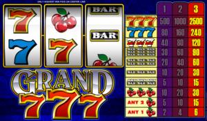 Online Grand 7s Slot