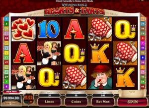 Online Hearts And Tarts Slot
