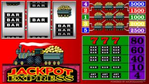 Online Slot Machine Jackpot Express