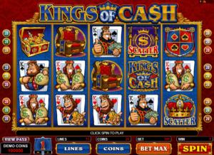 Online Kings Of Cash Slot
