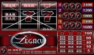 Online Slot Machine Legacy