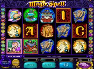 Play Slot Magic Spell Online