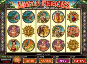 Online Slot Machine Mayan Princess