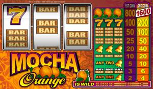 Online Slot Mocha Orange