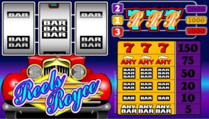 Online Reels Royce Slot for Free
