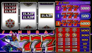Slot Samurai Sevens Online for Free