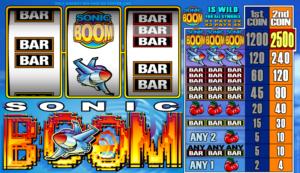 Online Sonic Boom Slot for Free