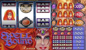 Online Slot Machine Spell Bound