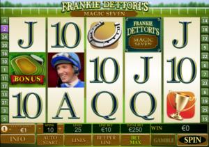 Online Frankie Dettori's Magic 7 Slot for Free