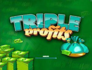 Online Slot Machine Triple Profits