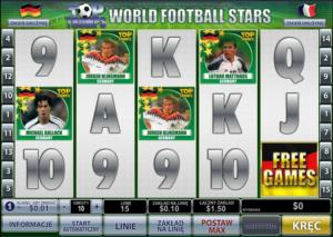 Online Slot Machine World Football Stars