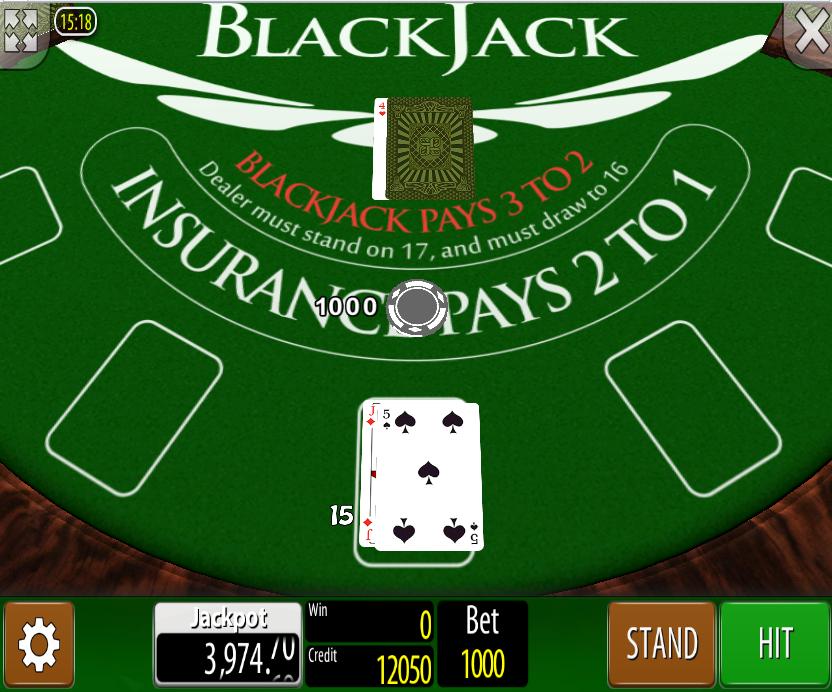 Blackjack Wazdan