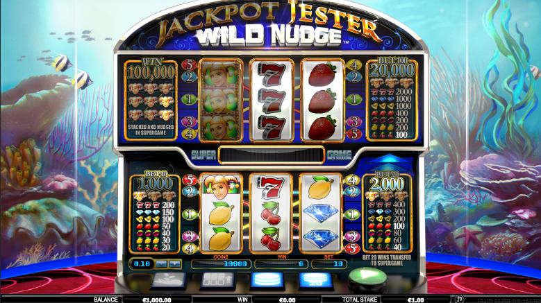 Jackpot Jester Wild Nudge