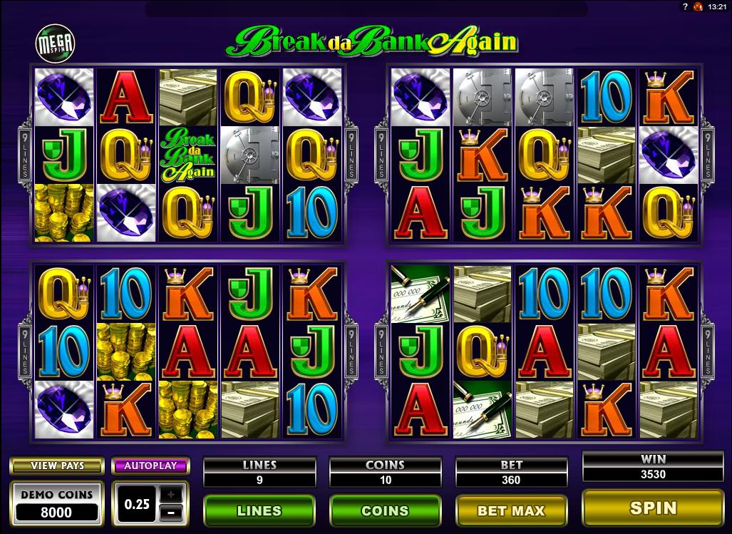 Mega Spin – Break Da Bank Again